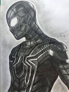 Original pencil portrait of Spiderman, from the film Avengers Infinity War, size cm. (Artwork - portrait - original - draw - print) - Ritratto originale a matita di Spiderman,dal film Avengers Infinity War,dimensione cm. Avengers Drawings, Comic Art, Drawing People, Art Drawings, Drawings, Drawing Superheroes, Art, Marvel Drawings, Spiderman Drawing