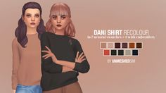 sims 4 mm cc maxis match sweater jumper unmeshedsim