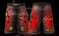"Part of the Tatami Fightwear X Meerkatsu collection, Tatami rolls out a pair of premium Fight Shorts called ""Honey Badger. Fight Shorts, Mma Gear, Honey Badger, Compression Shorts, Mixed Martial Arts, Rash Guard, Kickboxing, Jiu Jitsu, Belt"
