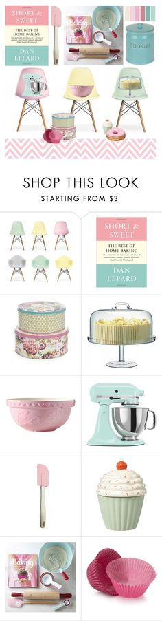 """""""Baking"""" by andi ❤ liked on Polyvore featuring interior, interiors, interior design, home, home decor, interior decorating, Ciel, At Home with Ashley Thomas, LSA International and Mason Cash"""