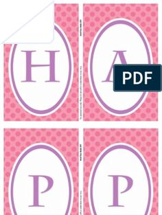 Birthday Banner Fathers Day Banner, Happy Fathers Day, Minnie Mouse, Information Processing, Pennant Banners, Happy Birthday Banners, Free Printables, Text File, Pdf