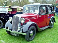 1935 Wolesely Wasp 1069cc 4-Cylinder OHC Engine (R.Knight)