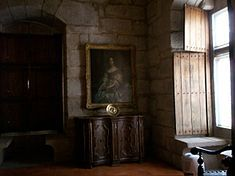 Paço dos Duques [Palace of the Dukes of Braganza] - Portrait of Catherine of Braganza-  Guimaraes, Portugal