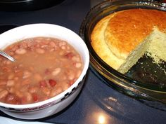 Soup Beans and Cornbread!  YUM!