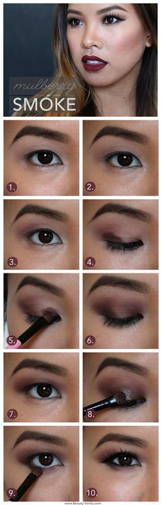 Eyeshadow application tips for hooded/monolid eyes