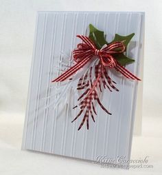 Good Sunday morning. I have a clean and simple holiday card to share with you today that I made for the Splitcoaststampers Featured Stamper Challenge. Penni, better known on SCS as razldazl is our featured stamper this week and my...