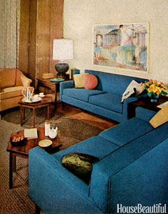 1960s Interiors Inspired By 'Mad Men,' From House Beautiful (PHOTOS)