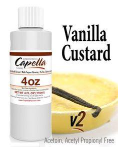 Vanilla Custard - 118 ml Vanilla Custard