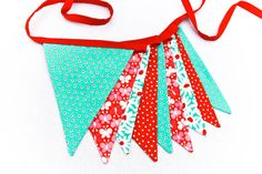 Fabric Banner Flags $35.00