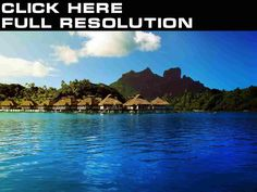 Coast Bora Bora Nature Wallpapers