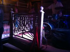Awesome railings at the Prohibition in Charleston, SC Railings, Charleston Sc, Home Appliances, Awesome, Design, Art, House Appliances, Art Background, Kitchen Appliances