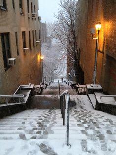 The Stairs at 187th Street - Washington Heights - New York, NY