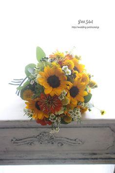 ひまわりブーケ sunflower bouquet