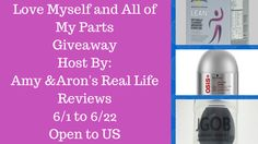 Love Myself and All of My Parts Giveaway {ends 6/22} | Dorky's Deals