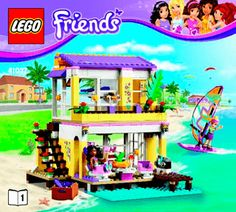 20 Best Lego Instruction Booklets Images Lego Friends Lego
