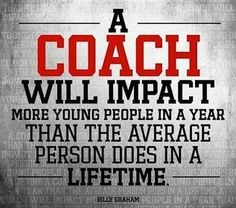 Coaching....Love it!