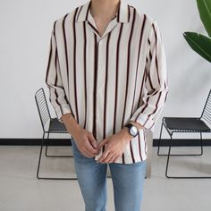 spring outfits in beautiful colors Polo Shirt Outfits, Sweater Outfits, Casual Outfits, Fashion Outfits, Club Outfits, H M Outfits, Asian Men Fashion, Mens Fashion, Stylish Men