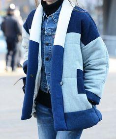 H   mogelijk design; werkjas - buiten/winter