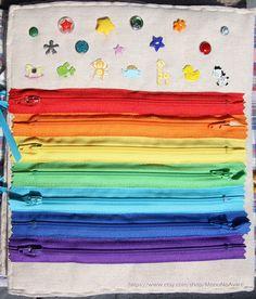 Regenbogen-Reißverschlüsse-Seite für Ihre sehr von MonoNoAvare