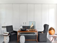 High Style in Pacific Heights: Messana O'Rorke Combines Two San Francisco Cottages Interior Design Magazine, Luxury Interior Design, Modern Interior, Classic Interior, Home Living Room, Living Room Designs, Pacific Heights, San Francisco Houses, My Ideal Home
