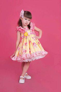 Laila Ruffle Dress PDF pattern size 1 5 by BobkinDesigns on Etsy