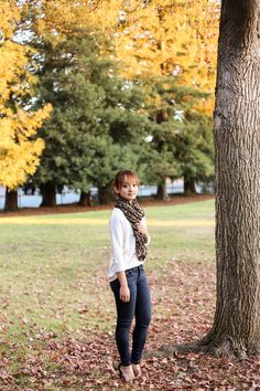 Fall is all about cozy sweaters and scarfs. Check out my blog for more fashion inspiration at www.thecrystalavenue.com