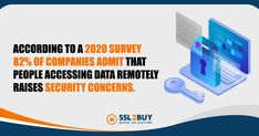 According to a 2020 survey 82% of companies admit that people accessing data remotely raises security concerns. Cyber Security Awareness, People, People Illustration, Folk