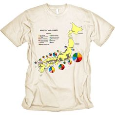 Japan Industry and Power Tshirt