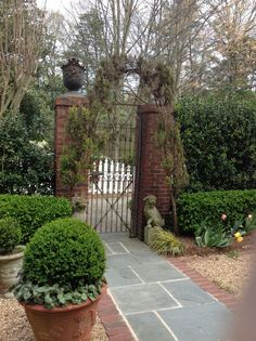 Image result for french provence gate and columns exterior