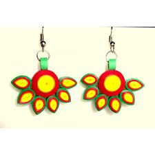 Image result for quilling earrings studs