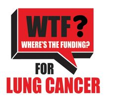 WTF? (Where's the Funding) for Lung Cancer?