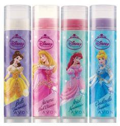 Avon Disney Princess Lip Tint....it works and tastes yummy!