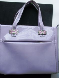 Hey, I found this really awesome Etsy listing at https://www.etsy.com/listing/216125401/vintage-italian-purple-designer-handbag