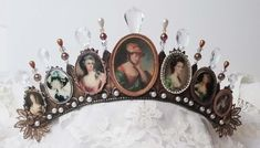 lauracars uploaded this image to 'Crowns'. See the album on Photobucket. Crafts With Pictures, 3d Fashion, Paper Ornaments, Assemblage Art, Collage Sheet, Cool Websites, Mixed Media Art, Altered Art, Crowns