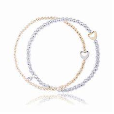 Joma jewellery bi colour forever bracelet from www.lizzielane.com £18.50 http://www.lizzielane.com/product/joma-jewellery-bi-colour-forever-bracelet/
