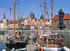#Main #Town of #Gdansk and Motława River