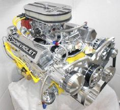 Chevy 383 Stroker/450hp Muscle Car Engine http://www.rollin84z.com