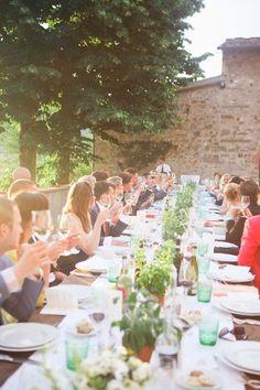 #al-fresco, #outdoor-dinner-party  Photography: Velvetine Photography - velvetine.nl