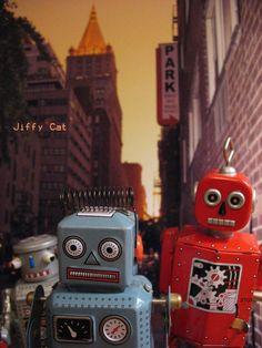 Those zany robots