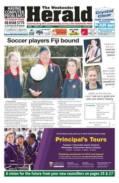 Latest edition online now. Please share the link. http://adelaidehills.realviewtechnologies.com/
