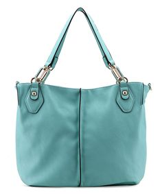 Love this MKF Collection Light Green Sophia Tote by MKF Collection on #zulily! #zulilyfinds