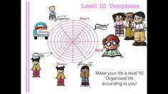 "Bullet Journal / Bujo / Planner ""Level 10 Life"" inserts Printable PDF Organised Life by Teachnorthernireland on Etsy"