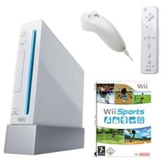 Console Nintendo Wii + Jeu Wii Sports à partir de 80 € ! #Wii #wiisports #nintendowii