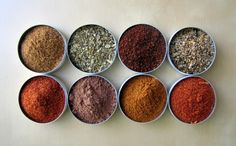 dry spice rubs • cookoutsidethebox