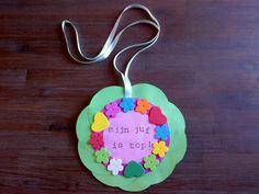 Medaille voor de juf [dag van de leerkracht]