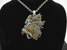 Chrysalis Fairy Necklace by Jody Bergsma