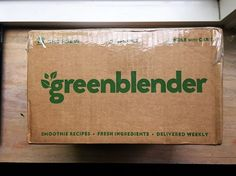 Green Blender Subscription Box Review + Coupon - May 2016 - Read my review of the May 2016 Green Blender Subscription Box and save with our coupon!