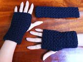 Free Crochet Patterns for Fingerless Gloves and Wrist Warmers / Plus Gauntlets, Arm Warmers and Wristbands