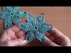 Crochet flower Tutorial Crochet motif Уроки вязания крючком Цветок    NotikaLand.com    #Crochet