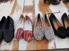 #loafers - new trend, which reminds me of Hugh Hefner's bedroom slippers.  Not sure if I like them.